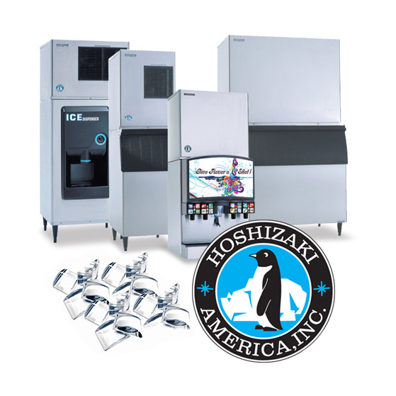 Hoshizaki ice machines at Ice Cube Leasing